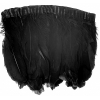 Goose Feather Strung 5.5-7in Value 65g 2Yards Black